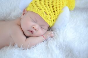 Lapsen on hyvä nukkua