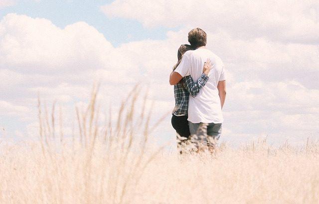 Romanttinen hetki kahdestaan